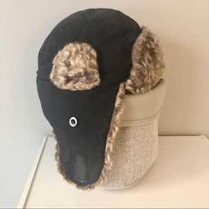 Gap Kids Fleece Lined Trapper Winter Hat L/XL